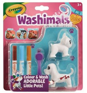 Crayola Washimals Mini sada  - Psi