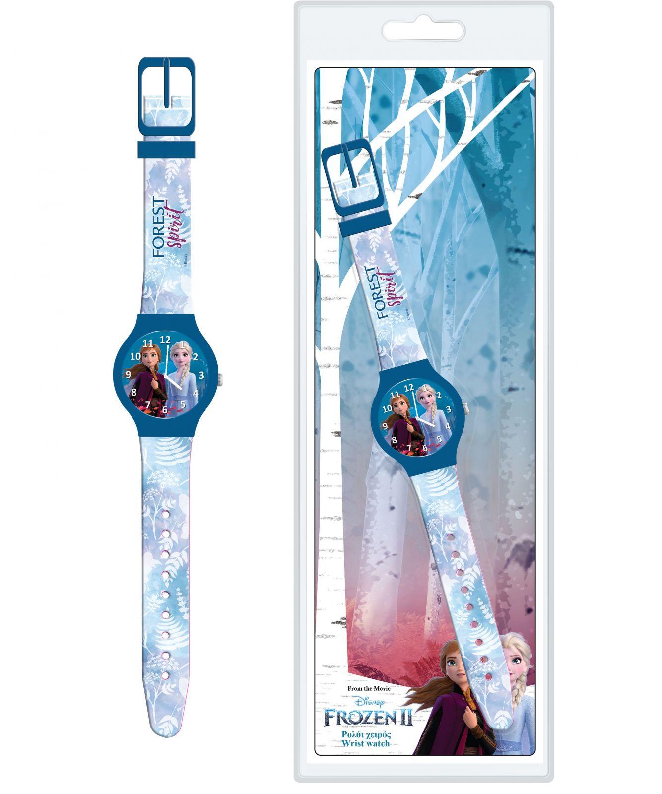 Dětské hodinky - analogové ( blistr ) - Frozen II NEW Diakakis