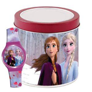 Dětské hodinky - analogové v plechovce  - Frozen II   NEW