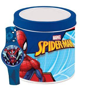 Dětské hodinky - analogové v plechovce  - Spiderman  NEW