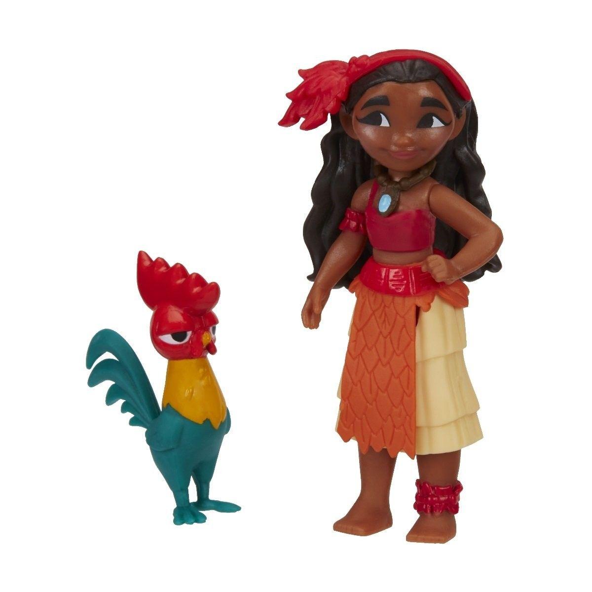 Hasbro - Figurka - minipanenka Vaiana a Hei Hei