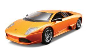 Maisto  1:24 Kit Lamborghini Murcielago  LP 640 - model  ke skládání  - oranžová barva