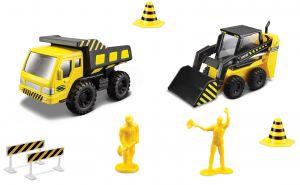 Maisto  22326 - Sada stavební silniční práce - žlutá  sada