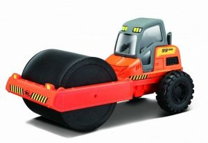 Maisto - Builder Zone - Street Roller - silniční válec - orange