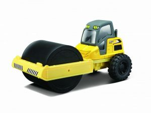 Maisto - Builder Zone - Street Roller - silniční válec - yellow
