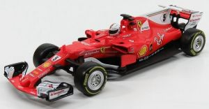 Maisto - RC  Ferrari F1  SF 70H  1:24  nr. 5  Vettel  r.2017