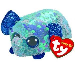 Plyšák TY - Teeny Ty´s  Flippables - modrý slon Stuart  10 cm  42413