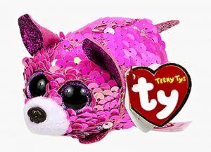 Plyšák TY - Teeny Ty´s  Flippables - růžová čivava Yappy  10 cm  42416