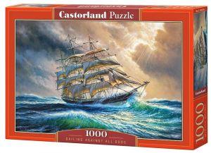 Puzzle Castorland  1000 dílků - Plachtění navzdory všemu   104529