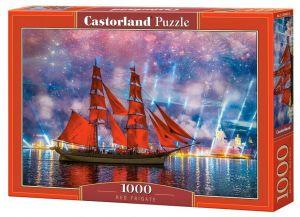 Puzzle Castorland  1000 dílků - Rudá fregata   104482