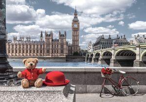 Puzzle Castorland 500 dílků - Cesta do Londýna 53315