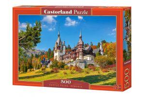 Puzzle Castorland 500 dílků - Zámek Peles , Rumunsko  53292
