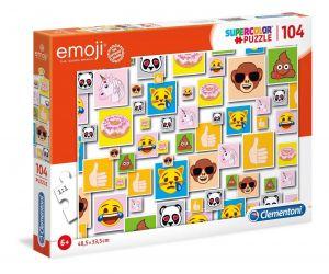 Puzzle Clementoni  - 104 dílků  - Emoji - smajlíci    27285