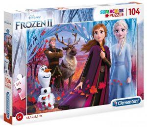 Puzzle Clementoni - 104 dílků  -  Frozen  II - Ledové království 27274