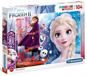 Puzzle Clementoni  - 104 dílků  Jewels   - Frozen II 20164