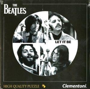Puzzle Clementoni kulaté Beatles - Let It Be 212 dílků 21402 TY Inc. ( Meteor )