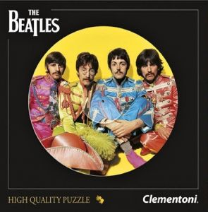 Puzzle Clementoni kulaté Beatles - The Beatles 212 dílků 21400 TY Inc. ( Meteor )