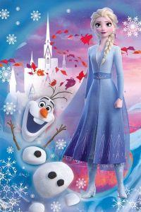 Puzzle mini 54 dílků - Trefl - Frozen II - ve světě Anny a Elsy  19640