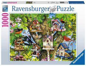 Puzzle Ravensburger 1000 dílků - Ptačí osada  196913