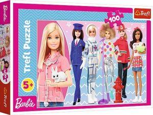 Puzzle Trefl 100 dílků - Barbie  - můžeš být kým chceš  16385