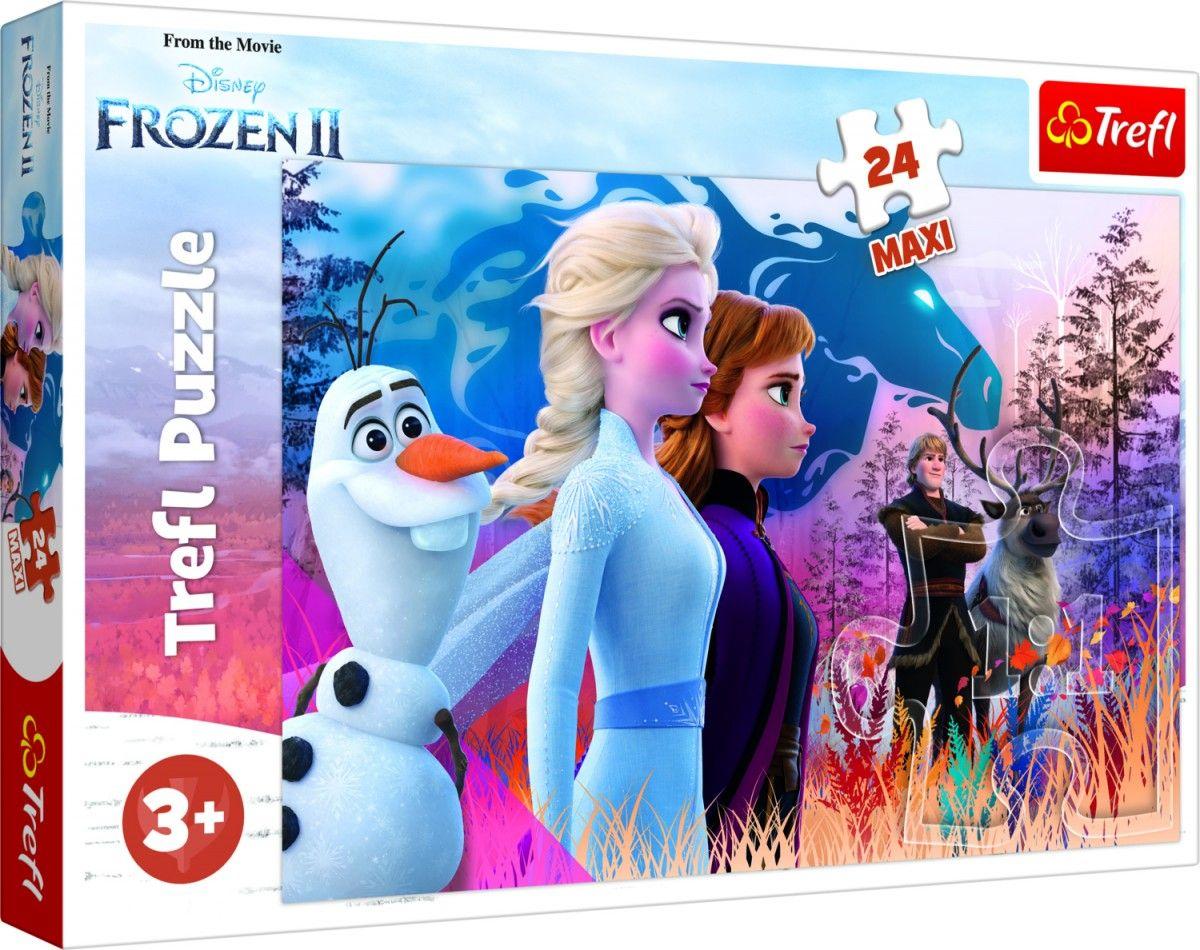 Puzzle Trefl 24 MAXI dílků - Frozen - Ledové království II 14298
