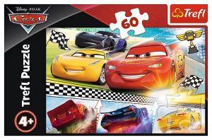 Puzzle Trefl 60 dílků  - CARS 3 - Legendární závod  17334