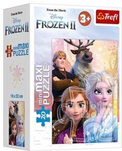 TREFL 20 dílků mini-MAXI - Frozen II  21083