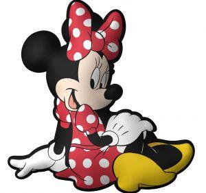 Tvarovaný plyšový polštářek - Minnie  40 cm