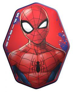 Tvarovaný plyšový polštářek - Spiderman 40 cm
