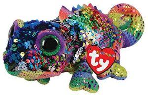 TY Beanie Boos Flippables - Karma - chameleón   36346 -  15 cm plyšák