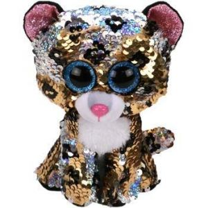 TY Beanie Boos Flippables - Sterling - leopard   36345 -  15 cm plyšák