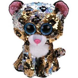 TY Beanie Boos Flippables - Sterling - leopard  36796 - 24 cm plyšák