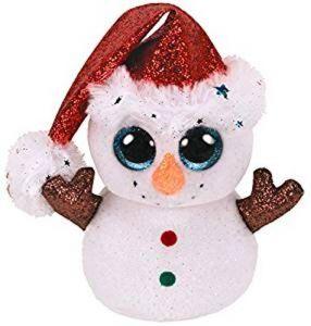 TY Beanie Boos - Flurry - sněhulák   36682 - 15 cm plyšák