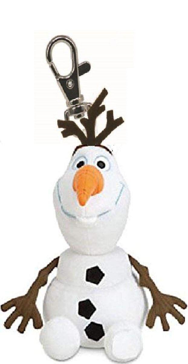 TY plyšový přívěšek na klíče 8,5 cm - Olaf - sněhulák se zvukem Frozen II 41272 TY Inc. ( Meteor )