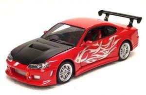 Auto Welly 1:24   Nissan Silvia S15  červená barva