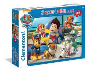 CLEMENTONI Dětské MAXI puzzle  104 dílků  Paw Patrol  23970