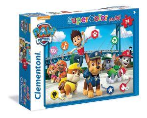 CLEMENTONI Dětské Maxi puzzle  24 dílků  -  Paw Patrol  24046