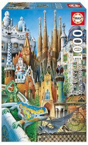 EDUCA Puzzle 1000 dílků -  Koláž  11874 mini