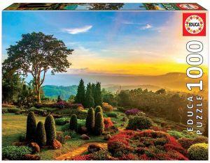 EDUCA Puzzle 1000 dílků -  Krásná zahrada 17968