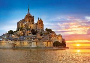 EDUCA Puzzle 1000 dílků - Mont Sant Michel 17665