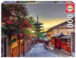 EDUCA Puzzle 1000 dílků -  Pagoda Yasaka -  Kjotó Japonsko 17969