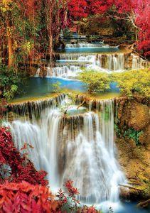 EDUCA Puzzle 1000 dílků - Vodopády v hloubi lesa 18461