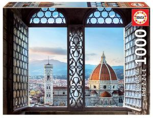 EDUCA Puzzle 1000 dílků -  Výhled na Florencii 18460