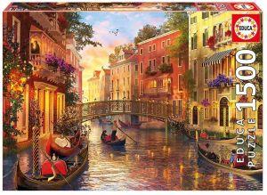 EDUCA Puzzle 1500 dílků  Benátky 17124