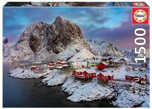 EDUCA Puzzle 1500 dílků  Lofoty v Norsku  17976