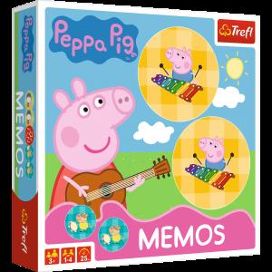 Hra Trefl  -  Memos - Pexeso  - Prasátko Peppa  01893