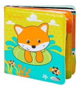 Infantino - Měkká koupelová knížka