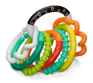 Infantino -  Řetěz s kousacími kroužky -  chrastítko  8 ks