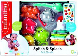 Infantino - Sada 4 hraček do vany 305076