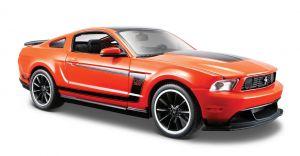 Maisto  1:24 Ford Mustang  Boss  302 GT - oranžová  barva